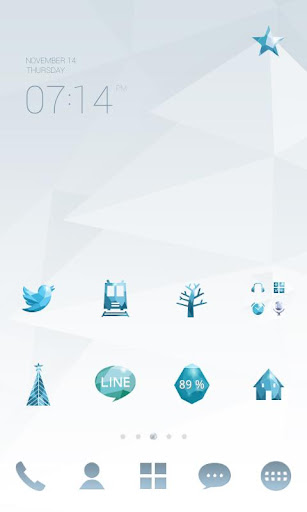 Diamond sky dodol theme