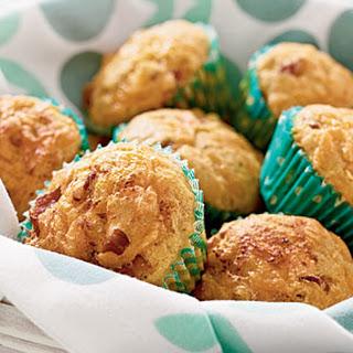 Bacon-Cheddar Corn Muffins