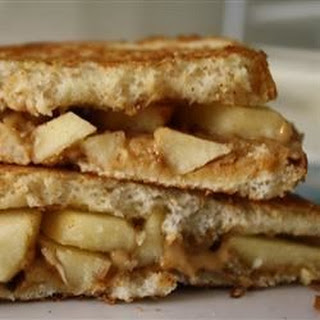 Grilled Peanut Butter Apple Sandwiches