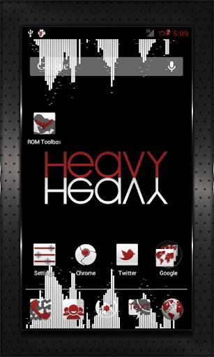 RED HEAVY CM10 AOKP CM7+
