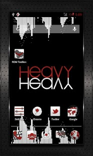 RED HEAVY CM10 AOKP CM7+ - screenshot thumbnail