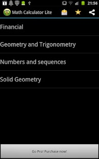 Math Calculator - screenshot thumbnail