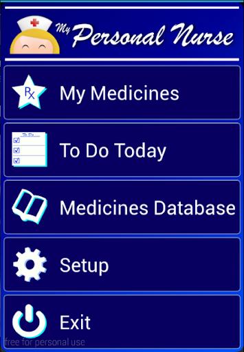 MyPersonalNurse Pill Reminder