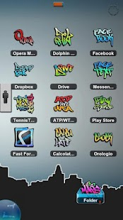 Graffiti Theme HD TSF Shell - screenshot thumbnail