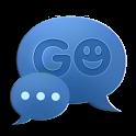 GO SMS Theme Neon Blue icon