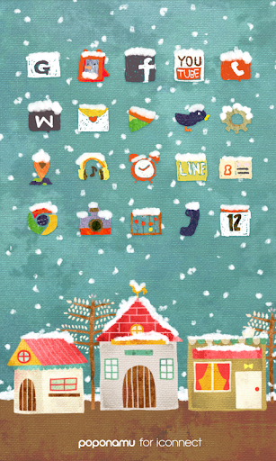 The Snow Street icon theme