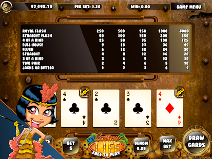 SteampunK Video Poker