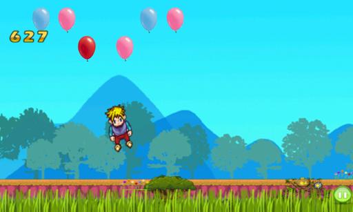 트램 폴린 풍선 점프