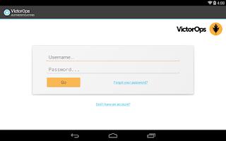 Screenshot of VictorOps Alert & On-Call Tool