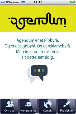Agendum - screenshot