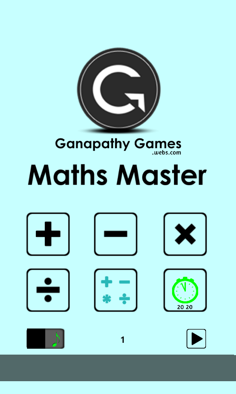 Maths Master- screenshot