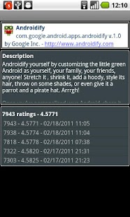 App Ratings - Android Stats- screenshot thumbnail