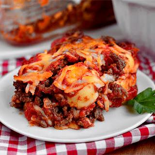 Lazy Girl's Ravioli Lasagna