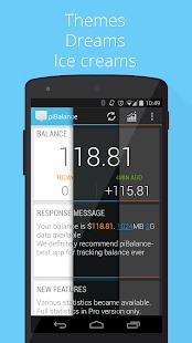 USSD piBalance—track balance - screenshot thumbnail