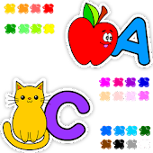 Learn and color English letter