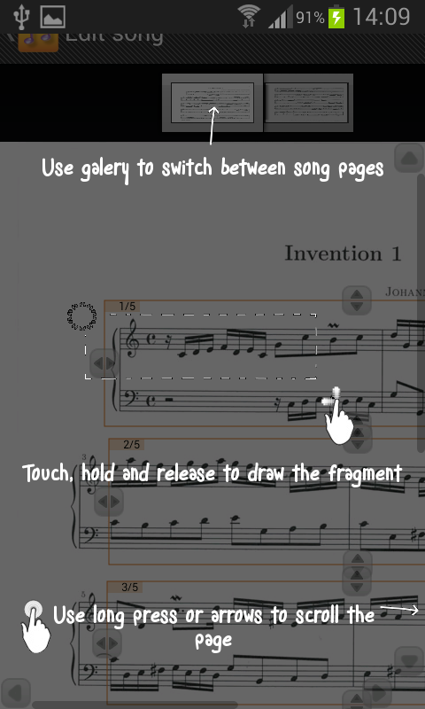 Song Sheet Reader- screenshot