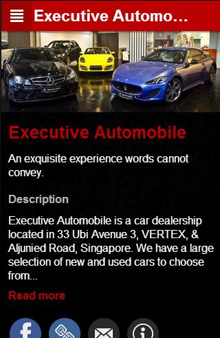 Executive Automobile