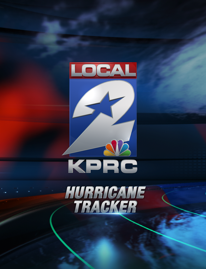 KPRC Local2 Hurricane Tracker - screenshot