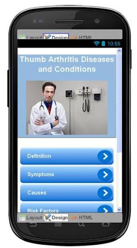 Thumb Arthritis Information