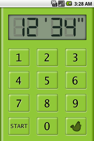 Music Kitchen Timer- screenshot