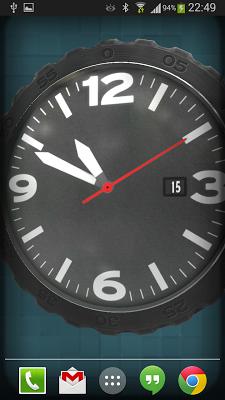 3D Pocket Watch Live Wallpaper - screenshot