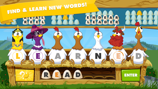 Chicktionary - Scrambled Words 1.12 screenshots 1