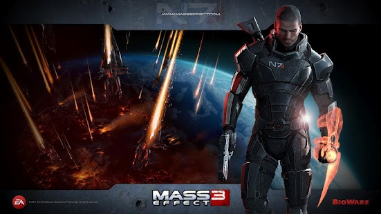 Mass Effect 3 Live Wallpaper - screenshot thumbnail