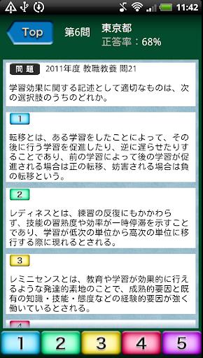 教員採用試験過去問 〜 教職教養 東京都 2015年度版