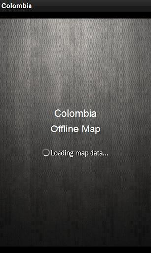 離線地圖 哥倫比亞