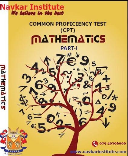 CA CPT QA Maths P-1 e-book