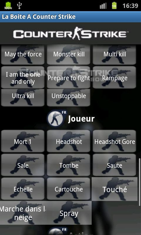 Counter Strike Soundbox - screenshot