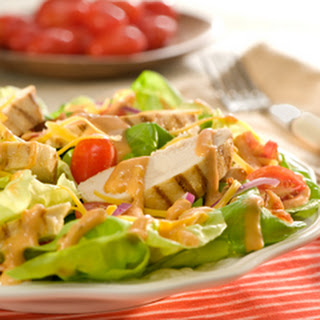 Chicken Blt Salad.