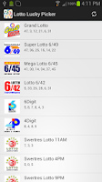 Screenshot of Philippines Lotto Lucky Picker