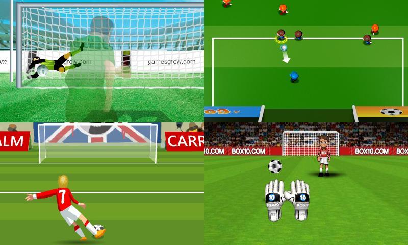 Jogos de futebol- screenshot