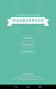 Masquerade- screenshot thumbnail