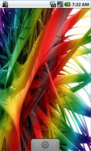 Colored Feather Live Wallpaper