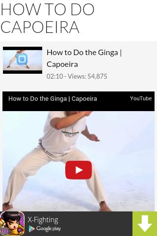 How to Do Capoeira
