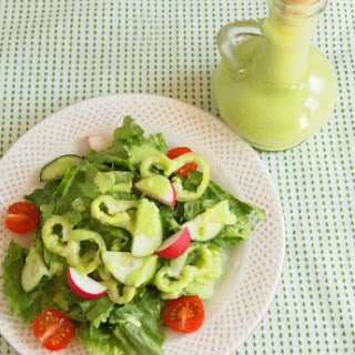 Creamy Parsley Salad Dressing