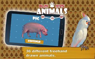 Screenshot of Animals: Dot to Dot