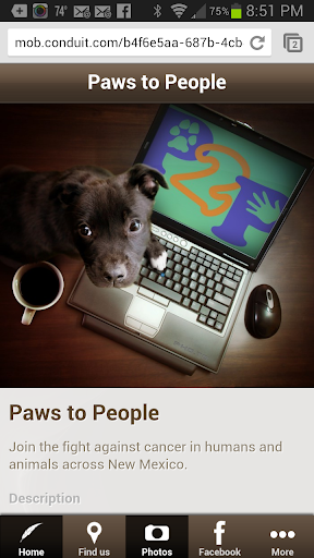 Paws To People