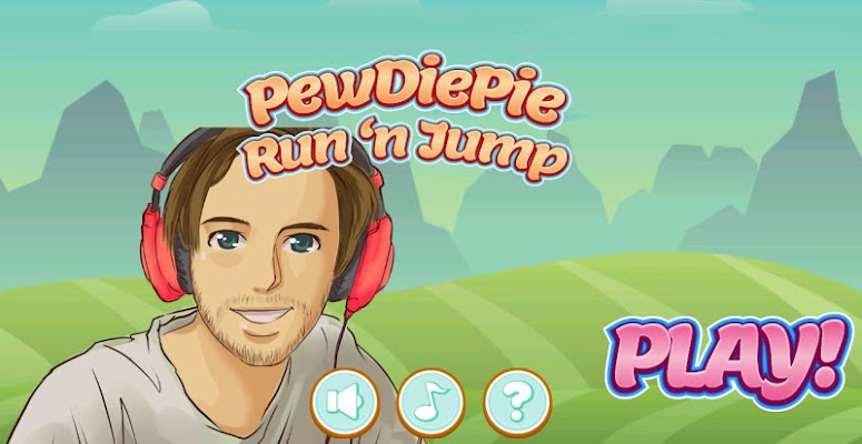 PewDiePie Run 'n Jump - screenshot