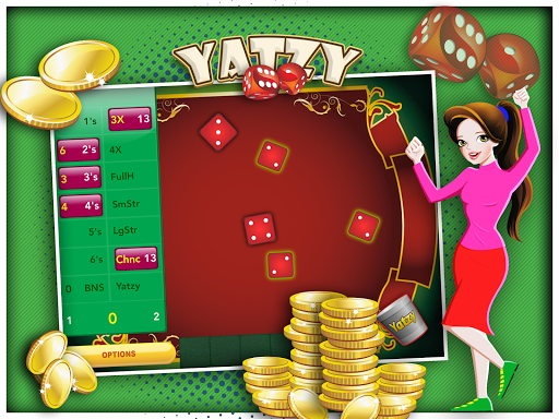 Mobile Dice Play Yatzy