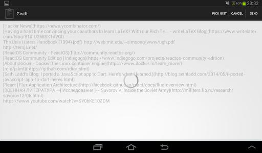 【免費生產應用App】GistIt-APP點子