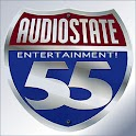 Audiostate 55 Entertainment! logo