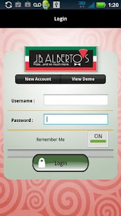 J.B.Alberto's Pizza- screenshot thumbnail