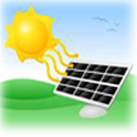 Solar Panel Battery Charger icon