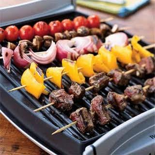 Classic Beef Shish Kebabs.
