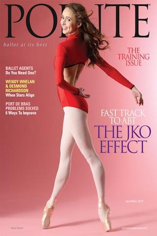 Pointe Magazine- screenshot