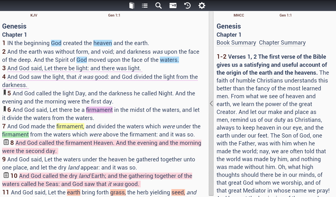 Cadre Bible - Bible Study App - screenshot