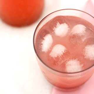 Rhubarb and Ginger Cordial.